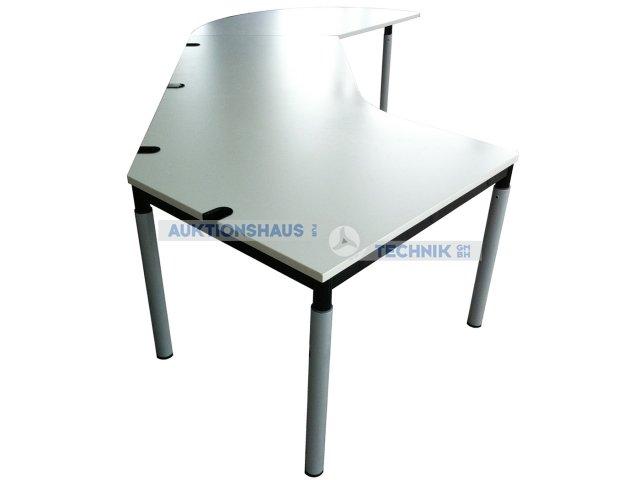k nig neurath schreibtisch mit besprechungsansatz chefschreibtisch k n ebay. Black Bedroom Furniture Sets. Home Design Ideas