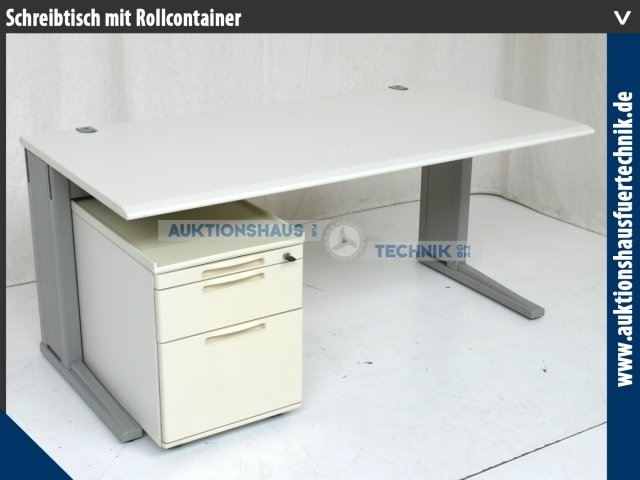 k nig neurath optima schreibtisch arbeitsplatz rollcontainer b rocontainer gw ebay. Black Bedroom Furniture Sets. Home Design Ideas