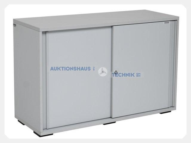 Aktenschrank  DYES HAWORTH - Sideboard Aktenschrank Lowboard Schiebetürenschrank ...