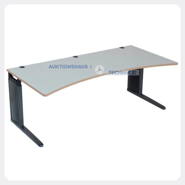 K nig neurath h henverstellbarer schreibtisch for Schreibtisch 200x100